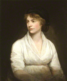 Mary Wollstonecraft, painted by John Opie the year before she died, National Portrait Gallery, London