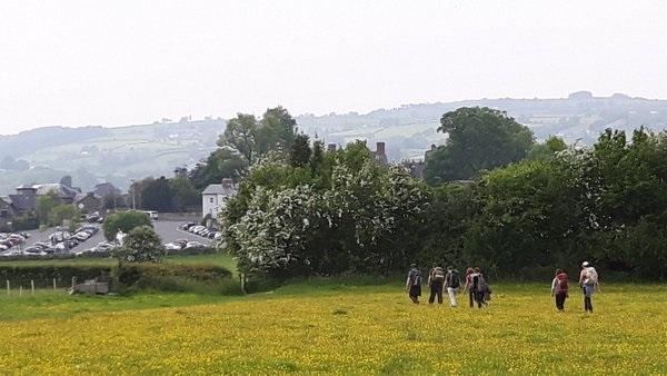 Walking into Hay (Coleridge in Wales)