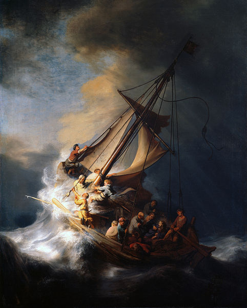 The Storm on the Sea of Galilee, Rembrandt van Rijn, 1633
