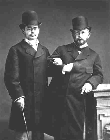 Iosef Kotek and Tchaikovsky, 1877