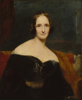 Richard Rothwell's portrait of Mary, first exhibited in 1840. National Portrait Gallery, London