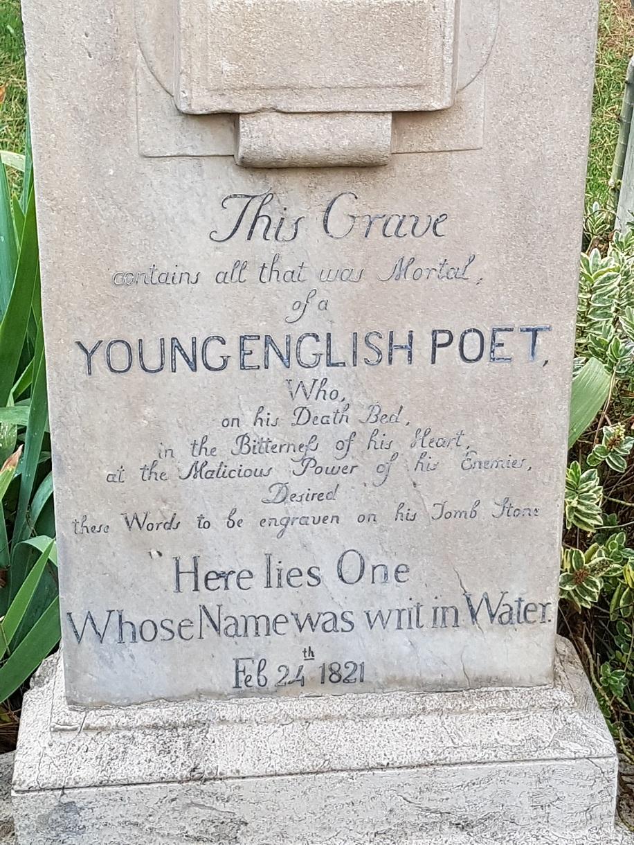 When did John Keats die? - Wordsworth Grasmere